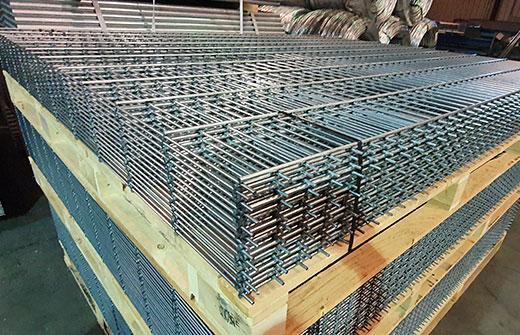 Paneles doble alambre