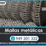 Fabricantes y especialistas en mallas metálicas. Te asesoramos en todo!