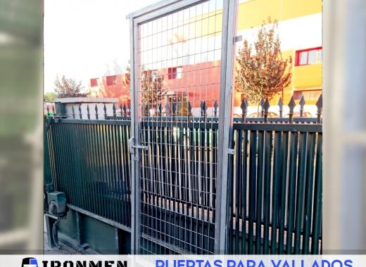 Puertas para vallados - IRONMEN